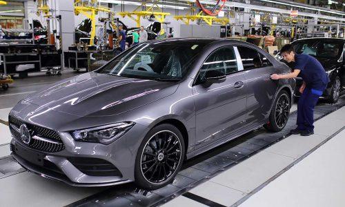 2020 Mercedes-Benz CLA production commences