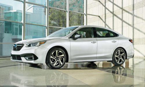 2020 Subaru Legacy (Liberty) revealed with new 2.4 turbo