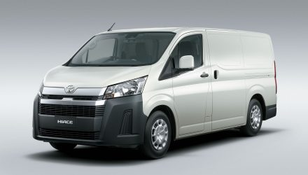 2020 Toyota HiAce revealed, gets powerful V6 option