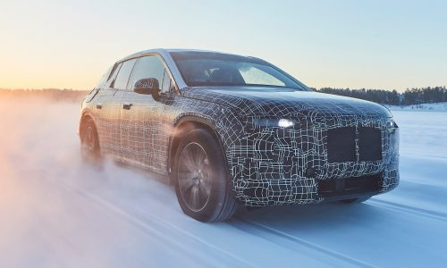 2021 BMW iNEXT electric SUV completes first winter tests