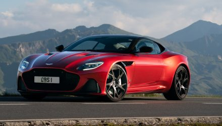 Aston Martin DBS Superleggera arrives in Australia