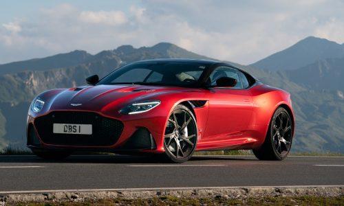Aston Martin DBS Superleggera arrives in Australia