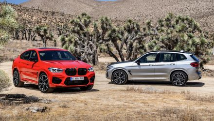 BMW X3 M & X4 M revealed, with Competition variants