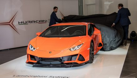 Lamborghini Huracan EVO makes Australian debut in Sydney