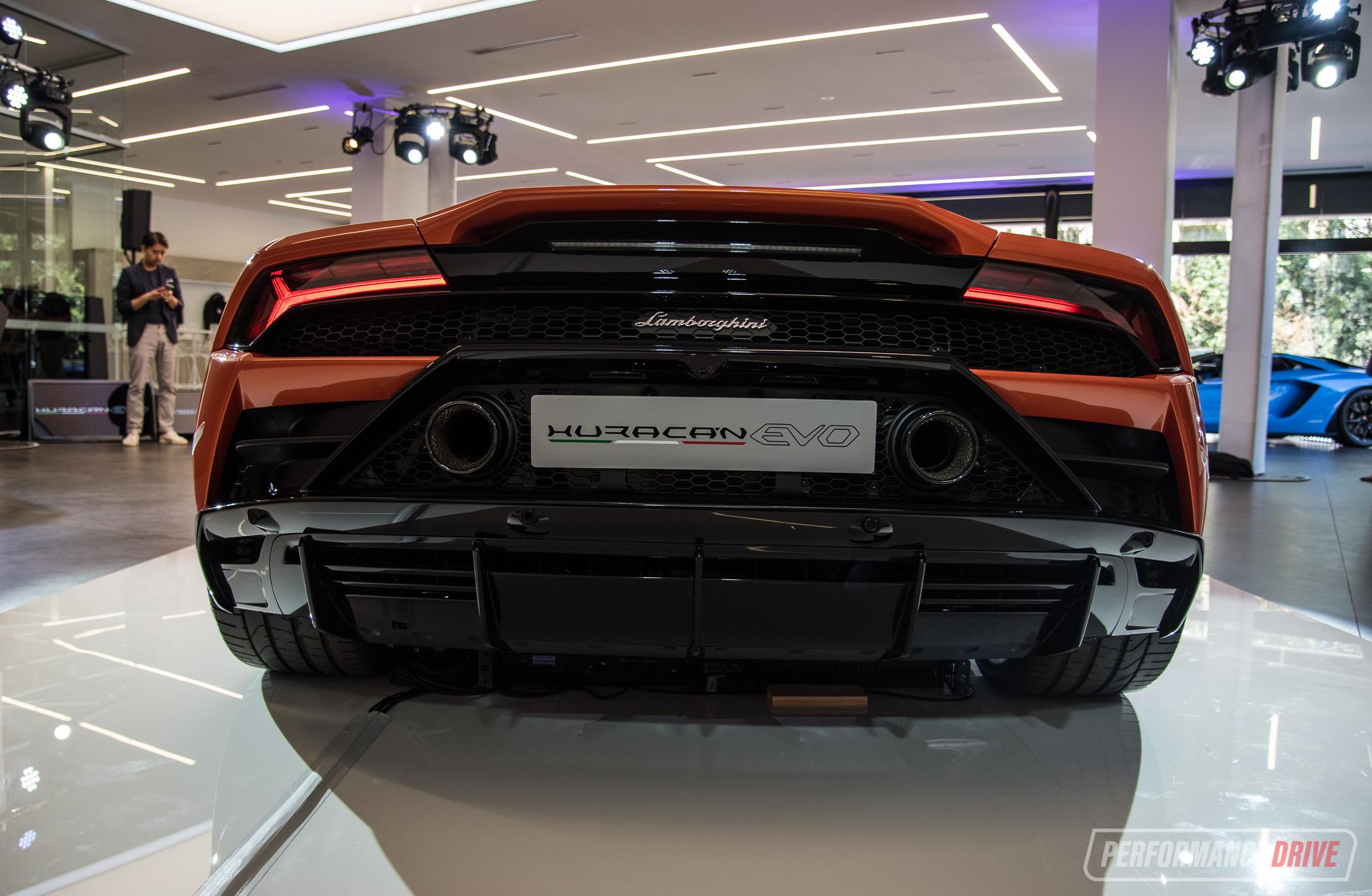 Lamborghini Huracan Evo Makes Australian Debut In Sydney