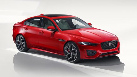 MY2020 Jaguar XE revealed, 221kW petrol becomes sole engine for Australia
