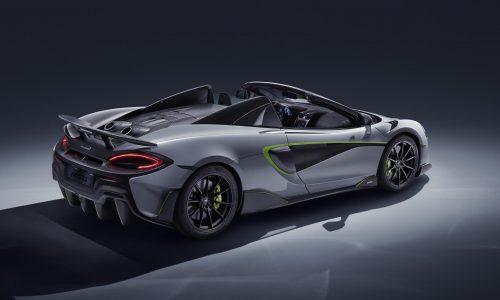 McLaren 600LT Spider gets MSO treatment for Geneva show