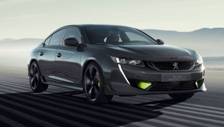 508 Peugeot Sport concept looks mean, packs 500hp hybrid