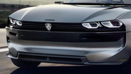 Peugeot e-LEGEND concept copy