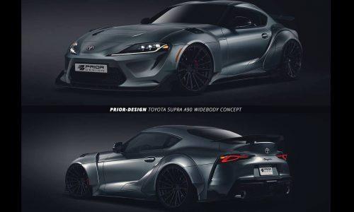 Prior Design already enhancing new A90 Toyota Supra