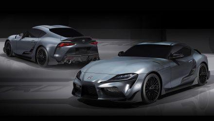 Toyota GR Supra Performance Line Concept TRD revealed