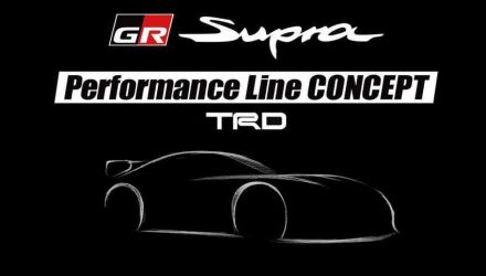 Toyota Supra Performance Line Concept TRD to preview upgrade options
