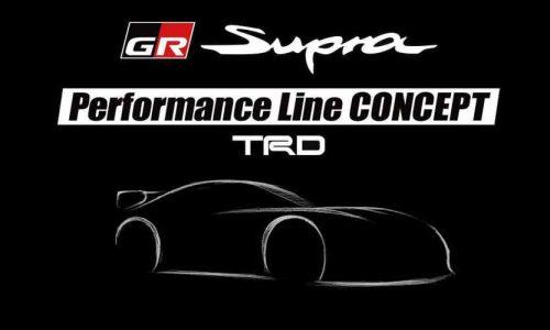 Toyota Supra Performance Line Concept TRD to preview upgrade options