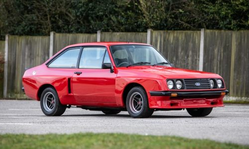 For Sale: Original 1977 Ford Escort RS2000 X-Pack