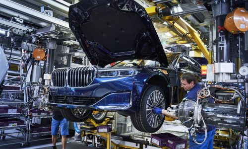 2019 BMW 7 Series production starts at Dingolfing plant