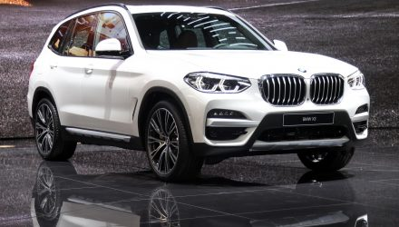 BMW X3 xDrive30e debuts at Geneva show, with new 330e, X5 xDrive45e