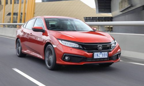 2019 Honda Civic sedan update now on sale in Australia