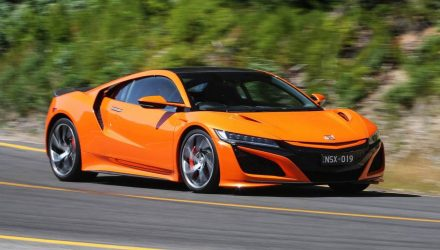 2019 Honda NSX arrives in Australia
