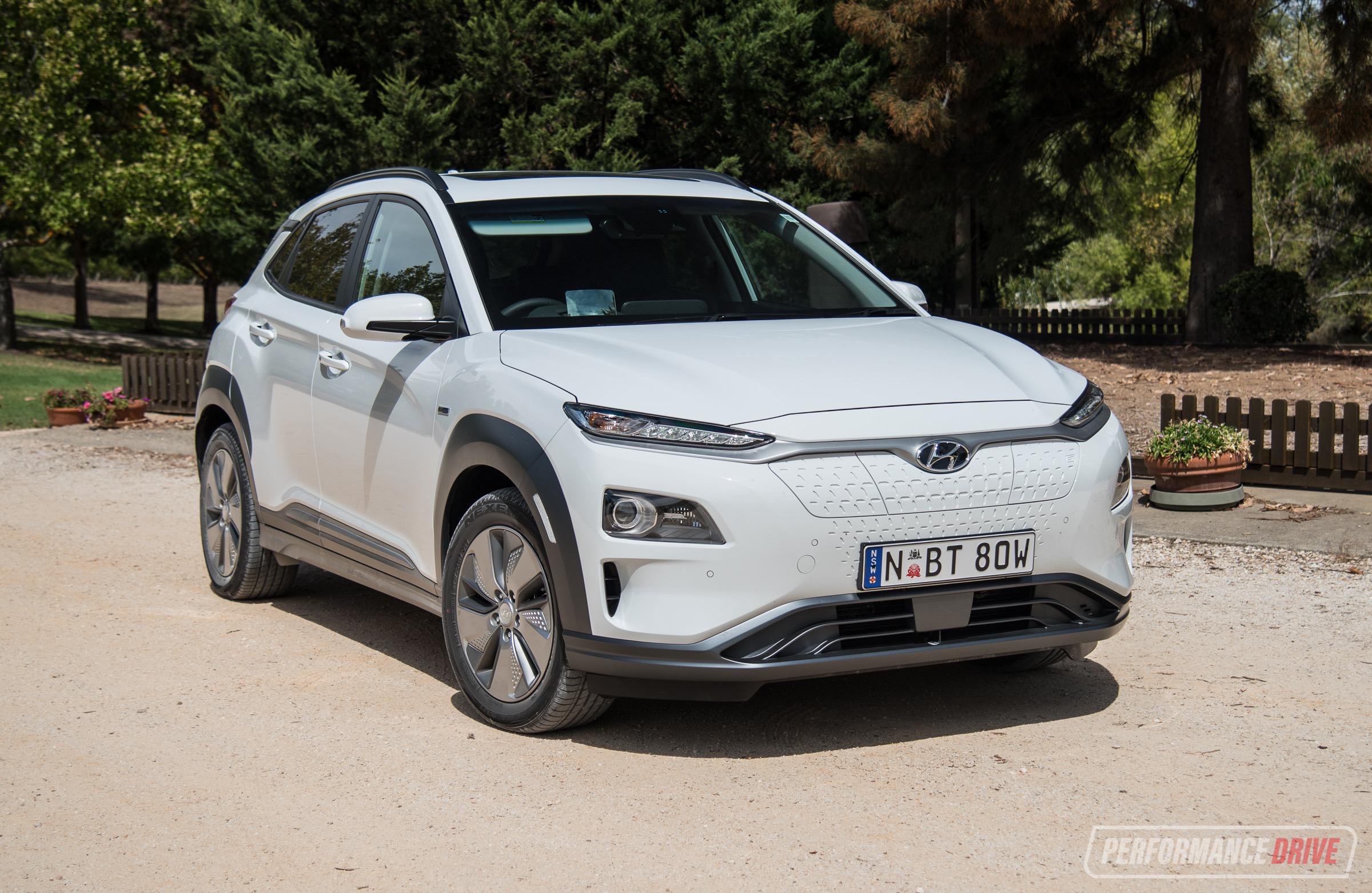 2019 Hyundai Kona Electric Review Australian Launch Video Performancedrive