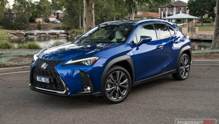 2019 Lexus UX 200 F Sport review (video)