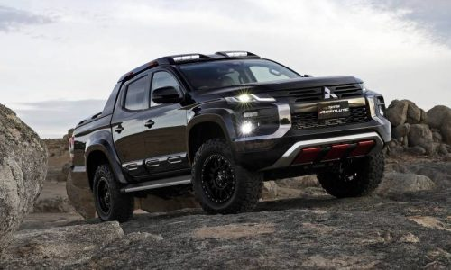 Mitsubishi Triton Absolute concept debuts, could preview new variant