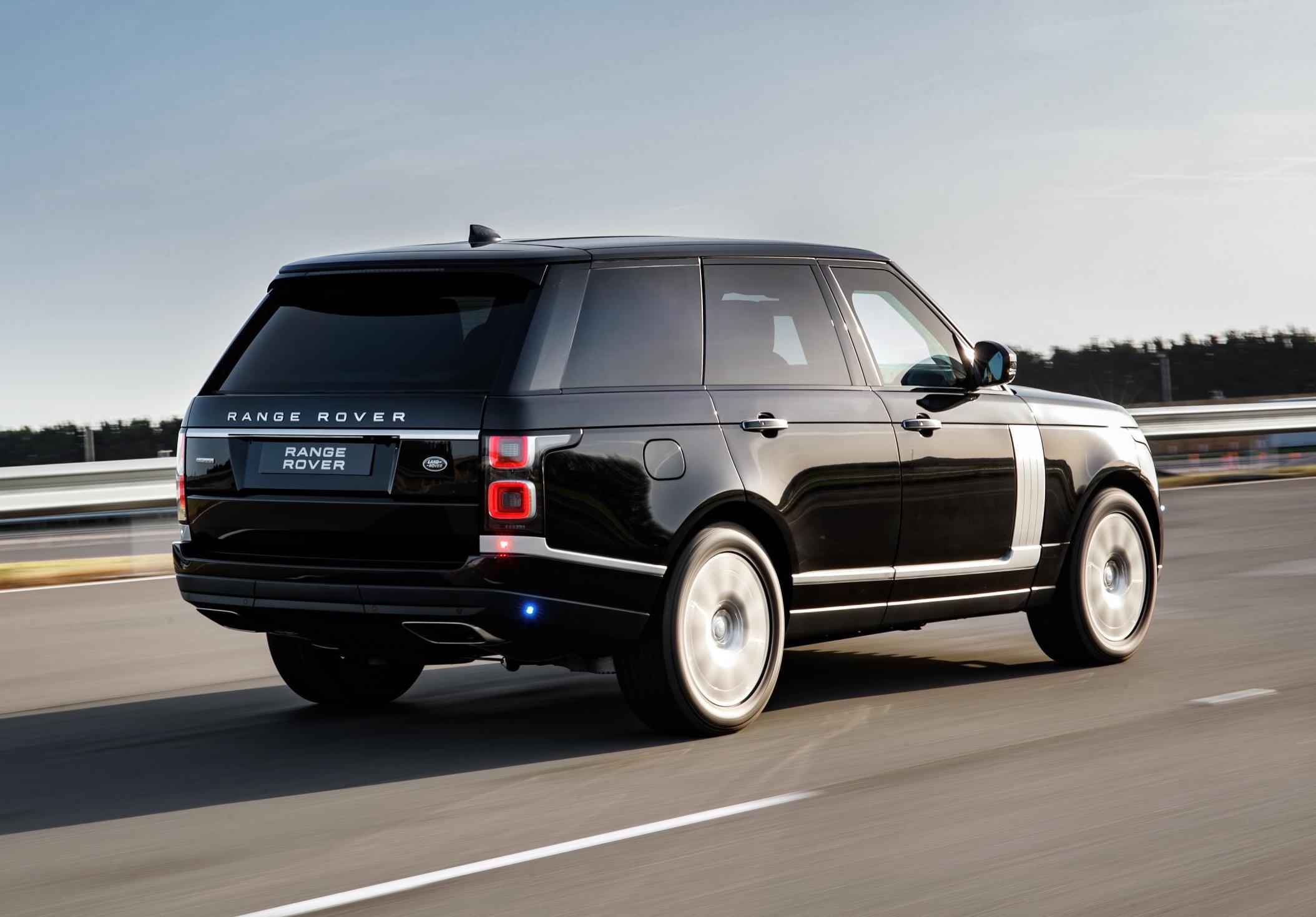 2019 range rover sentinel revealed  ultimate armoured suv