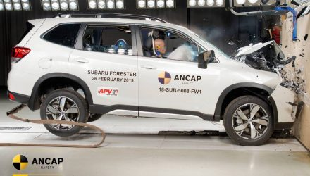 2019 Subaru Forester scores 5-star ANCAP safety rating