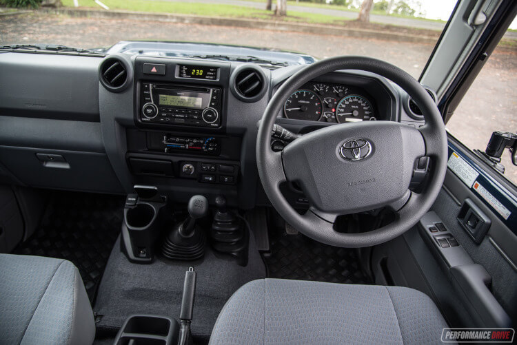 2019 Toyota LandCruiser 78 Series Troop Carrier Interior