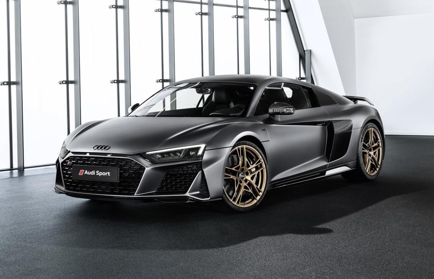 Audi R8 Decennium edition celebrates 10 years of V10