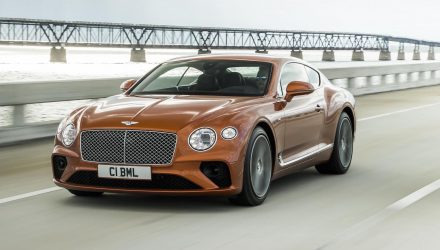 2020 Bentley Continental GT V8 unveiled