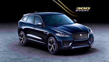 2020 Jaguar F-PACE 300 Sport, Chequered Flag editions announced