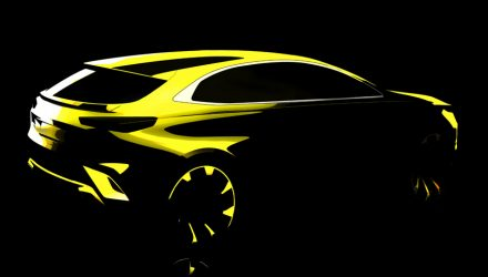 Kia Ceed crossover sketch previews striking new SUV