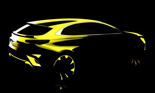 Kia Ceed crossover sketch previews striking new SUV