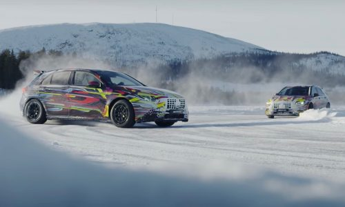 2020 Mercedes-AMG A 45 wants you to drift (video)