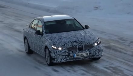 2020 Mercedes-Benz C-Class 'W206' spied testing (video)