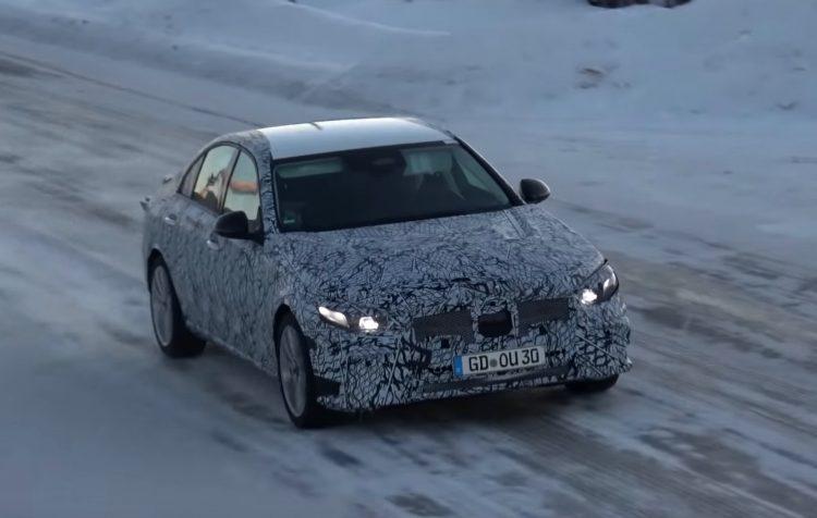 2020 Mercedes-Benz C-Class 'W206' spied testing (video ...