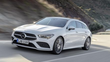 2020 Mercedes-Benz CLA Shooting Brake revealed