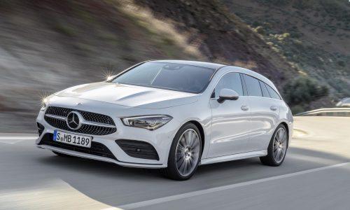 2020 Mercedes-Benz CLA Shooting Brake revealed