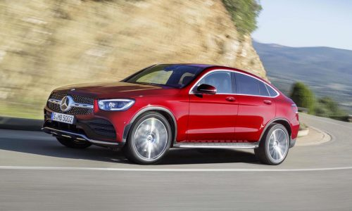 2020 Mercedes-Benz GLC Coupe revealed, gets EQ Boost technology