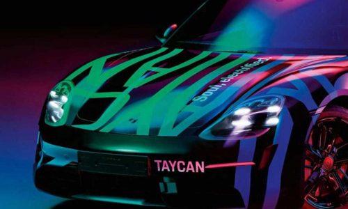 Porsche Taycan previewed, September debut confirmed