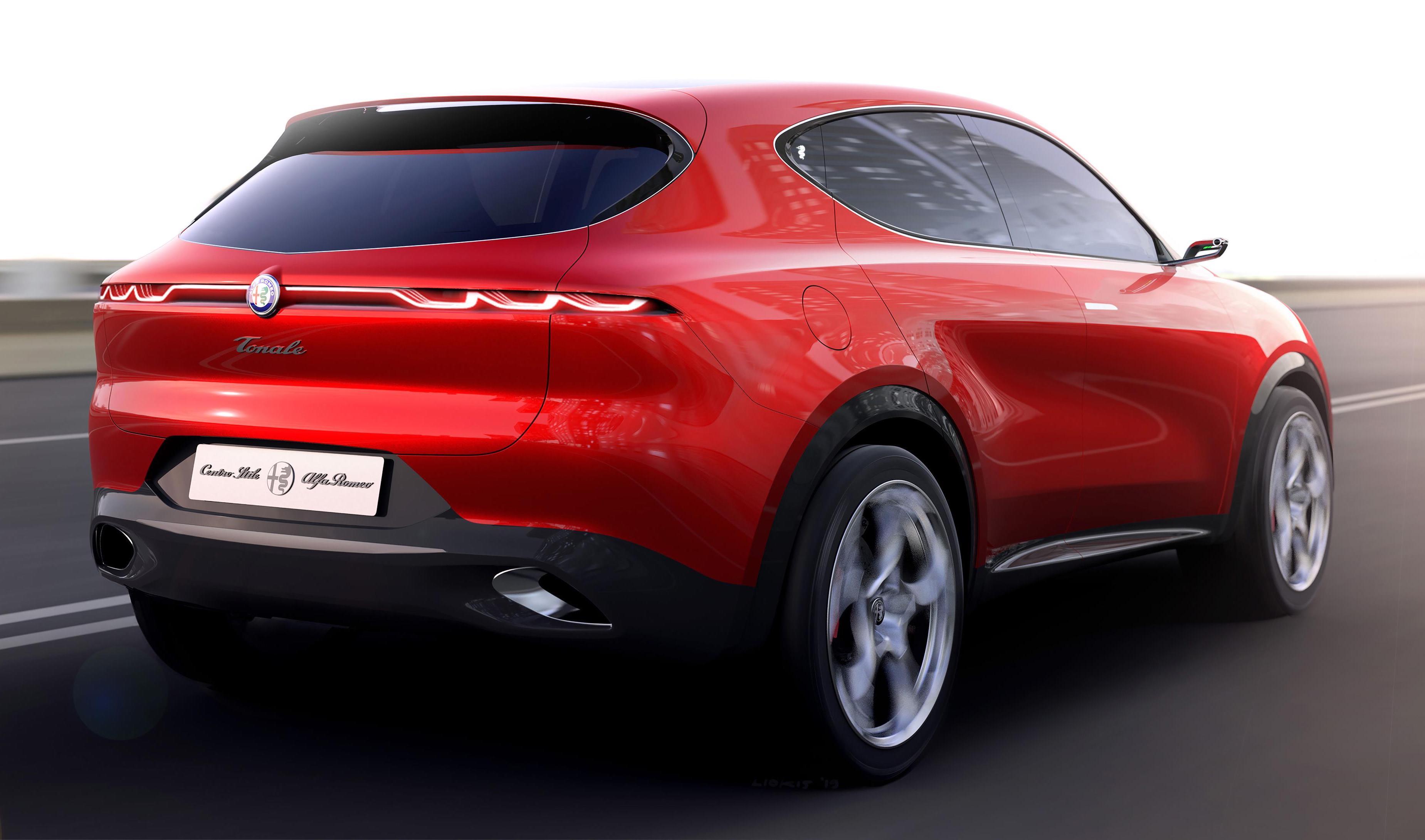 Alfa Romeo Tonale concept revealed, previews new SUV