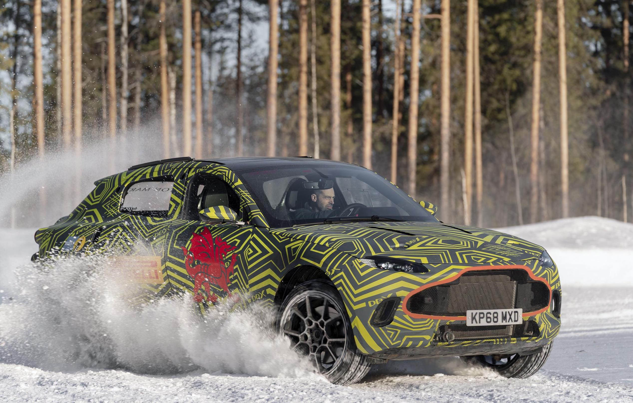 Aston Martin Dbx Suv Testing Moves To Freezing Conditions Video Performancedrive