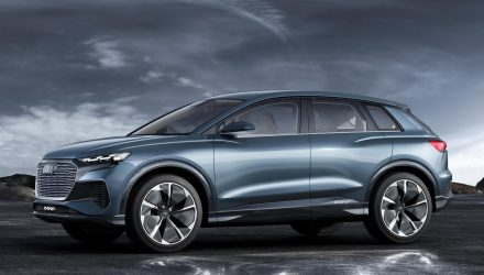 Audi Q4 e-tron concept unveiled at Geneva, production version coming