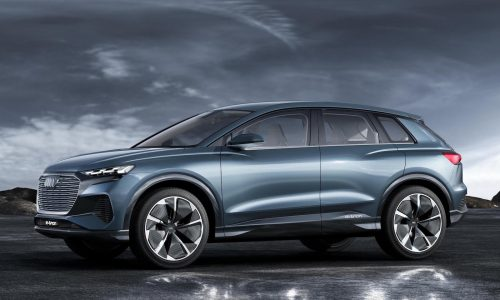 Audi Q4 e-tron concept unveiled at Geneva, production version coming