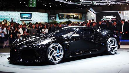 Bugatti La Voiture Noire unveiled, most expensive car ever