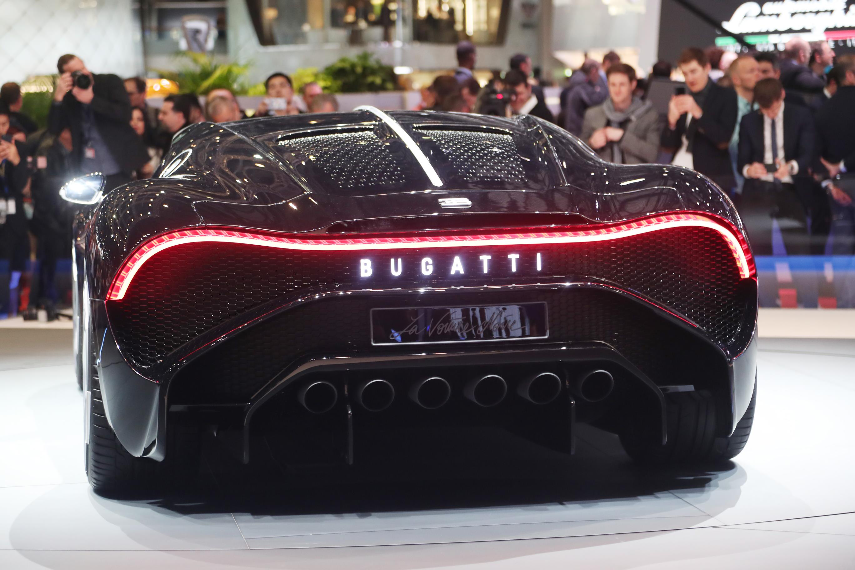 Bugatti La Voiture Noire Unveiled Most Expensive Car Ever