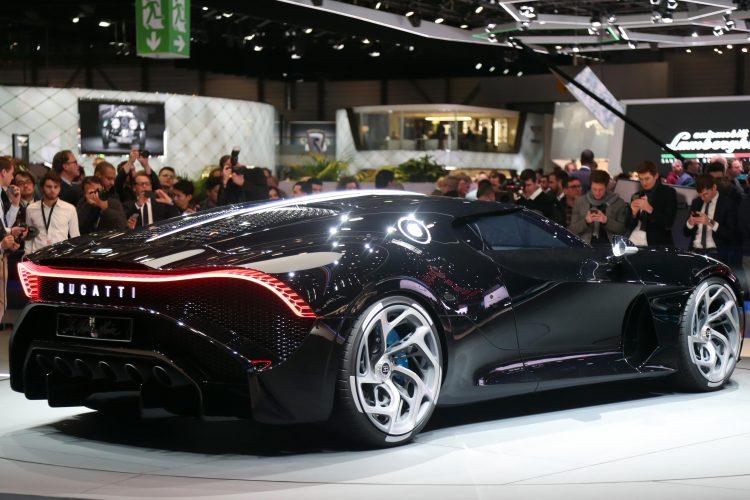 Bugatti La Voiture Noire Unveiled Most Expensive Car Ever