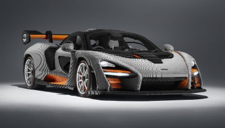 Full-size Lego McLaren Senna created, weighs more than real car