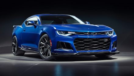 HSV confirms Chevrolet Camaro ZL1 for Australia, with manual option