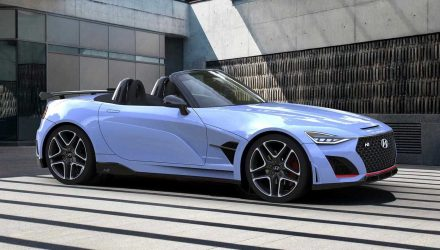 Hyundai N Roadster rendered, needs production version